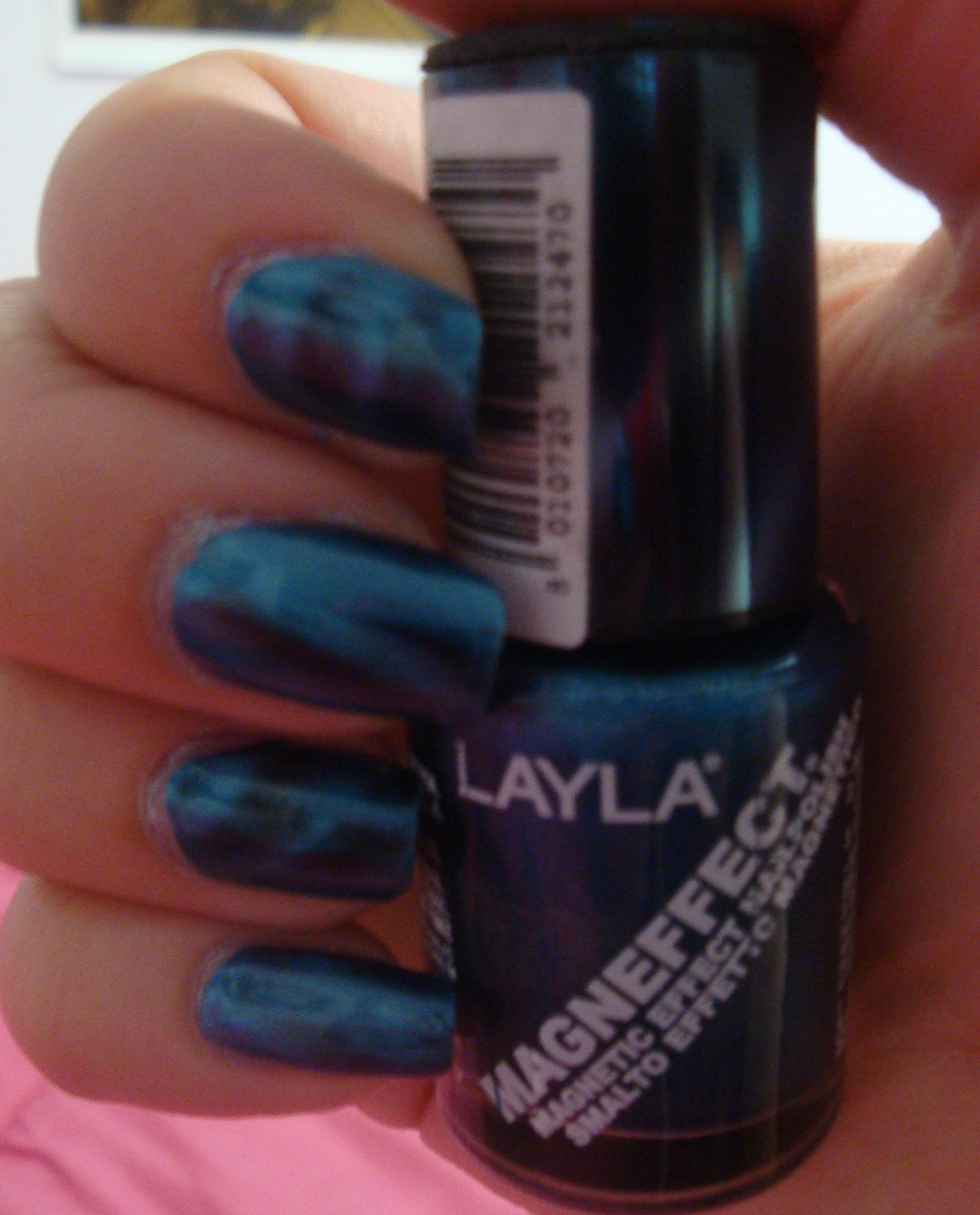 Try it on Tuesday: Layla Magneffect Metallic Sky | Adventures in ...