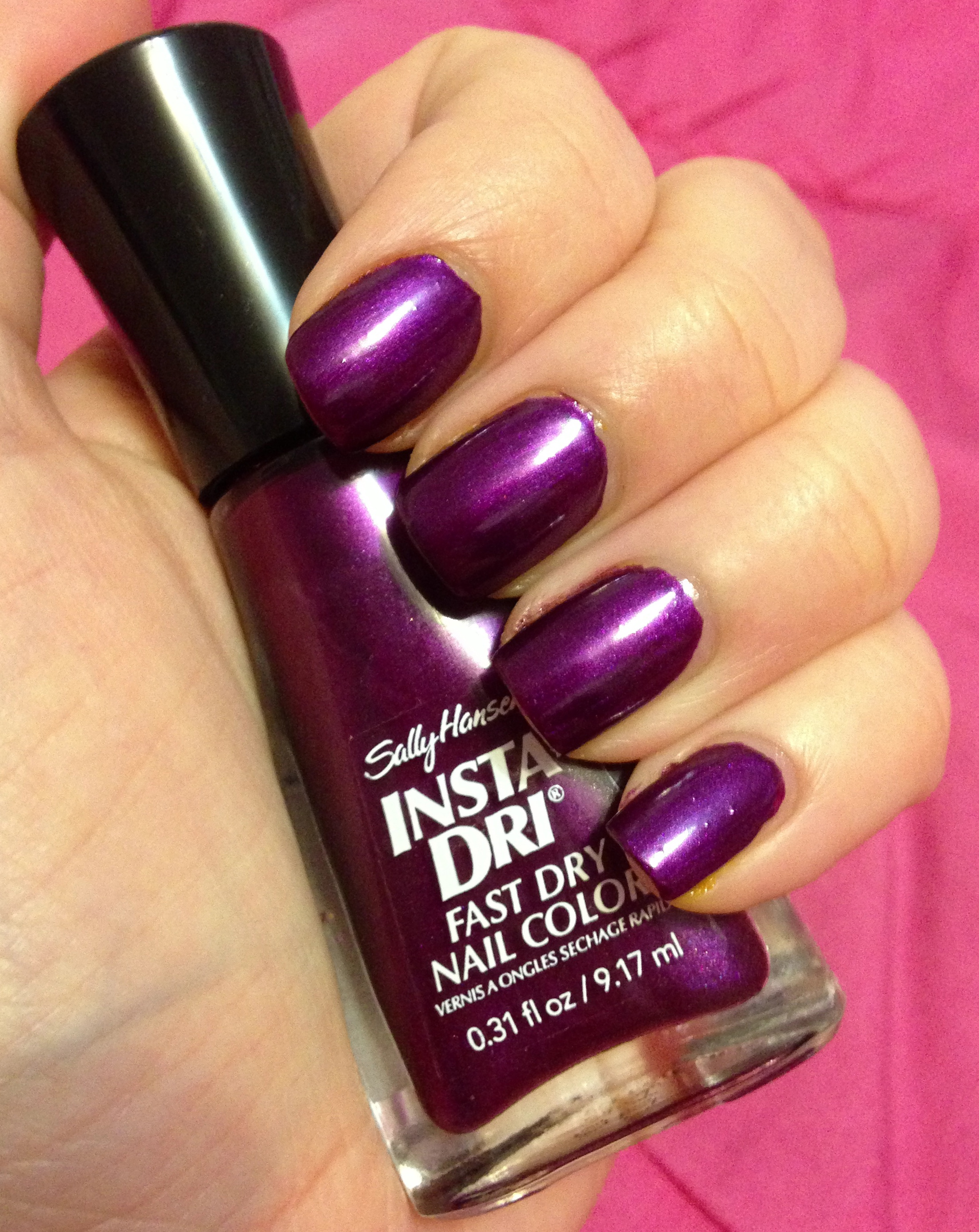 Be Ready in a Flash with Sally Hansen Insta-Dri! | Adventures in ...